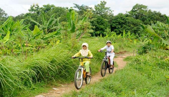 Radtouren in Indonesien