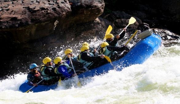 Rafting in Indonesien