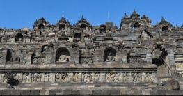 Borobodur Tempel in Indonesien