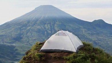Camping in Indonesien