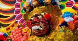 Indonesische Maske