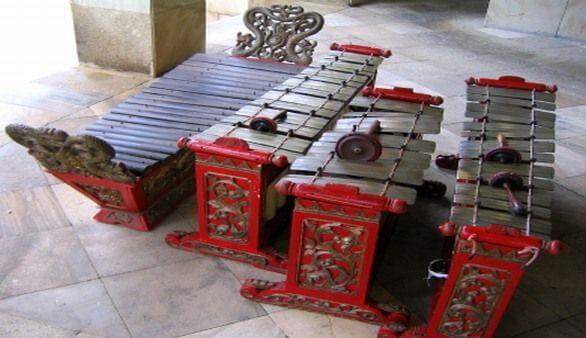 Indonesisches Musikinstrument