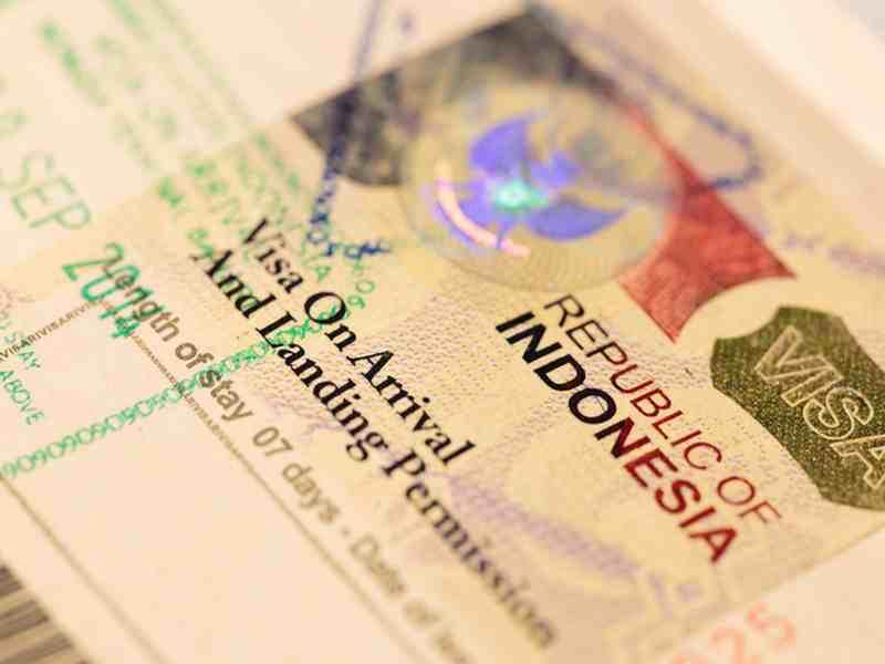 Visum für Indonesien